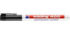 Permanentmarker 400 1mm schwarz EDDING 400-001 Rundspitze nachfüllbar Produktbild