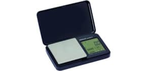 Taschenbriefwaage MAULpocket schwarz MAUL 16115 90 Batterie Produktbild