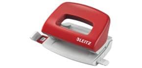 Locher 5058 rot LEITZ 5058-00-25 für 10 Blatt Produktbild