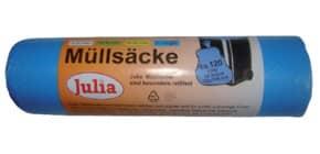 Müllsack 120l 10ST blau JULIA A52089/6430LA Produktbild