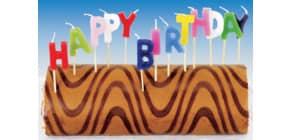 Geburtstagskerzen Set 550114 Happy Birthday Produktbild