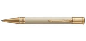 Kugelschreiber M Duofold elfenb./schwarz PARKER 1931396 Classic Ivory&Black G.C.M Produktbild