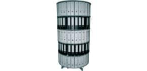 Ordnerdrehsäule 5 Etagen grau R2100B5 D100cm Produktbild