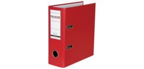 Ordner A5 hoch rot FALKEN 11285657 N80 Produktbild