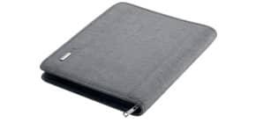 Schreibmappe A4 LAZIO grau ALASSIO 30116 28,5x36x5cm Produktbild