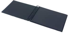 Fotospiralbuch Soho schwarz RÖSSLER 1329452700 195x145mm Produktbild