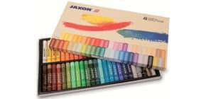 Pastell-Ölkreide sort. JAXON 47448  48er-Et Produktbild