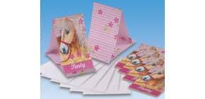 Einladung m.Umschlag Pferde RIETHMÜLLER 551266 6/6 Produktbild