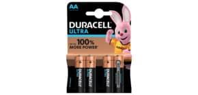 Batterie MN1500 LR6 Ultra AA DURACELL DUR002562 4St Produktbild