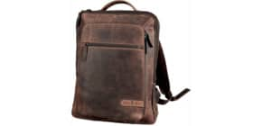 Laptoprucksack Business JESTER braun PRIDE & SOUL 47199 Leder 31x40x13,5cm Produktbild