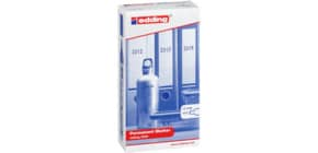 Permanentmarker 3000 1,5-3mm 10 St. sort EDDING 4-3000999 Rundsp. nachfüllbar Produktbild