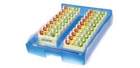 Lernkartei Croco 2-6-19 blautransparent HAN 9988-643 A8 Produktbild