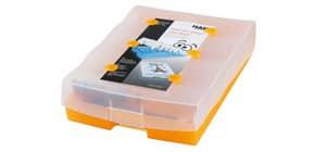 Lernkartei Croco 2-6-19 orangetransparen HAN 9988-613 A8 Produktbild