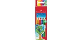 Farbstiftetui Jumbo Grip 6ST FABER CASTELL 110906 lang Produktbild