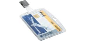Ausweishalter 54x85mm mit Clip 25 Stück DURABLE 8005-19 Produktbild
