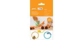 Haftetiketten Spielzeug weiß ZWECKFORM 62034 37mm D. Produktbild
