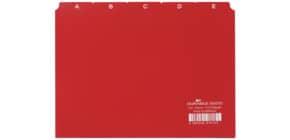 Leitregister A-Z A5 rot DURABLE 3650 03 Produktbild