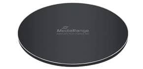 Schnellladestation induktive schwarz MEDIARANGE MRMA111 f. Smartphone Produktbild
