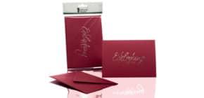 Briefkarte B6 HD 5/5 rosso EINLADUNG 1181955072 Produktbild