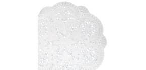 Tassenuntersetzer D10cm weiß DEMMLER 1022104025 40ST Produktbild