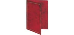 Urkunden Mappe A4 rot RNK 2831 Produktbild
