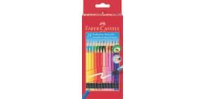 Farbstifte 24ST m.Radierer sortiert FABER CASTELL 116625 Classic Colours Produktbild
