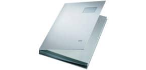 Unterschriftsmappe 20 Fächer grau LEITZ 57000085 Plastik kaschiert Produktbild