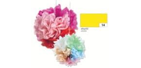 Blumenseide 50x70cm altgold FOLIA 91014 20g 5Bg Produktbild
