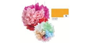 Blumenseide 50x70cm maisgelb FOLIA 91018 20g 5Bg Produktbild