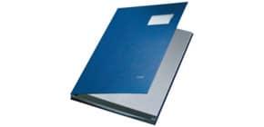 Unterschriftsmappe 10 Fächer blau LEITZ 5701-00-35 PP Produktbild