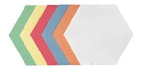 Moderationskarte 250 Stück sortiert FRANKEN UMZH 1719 99 16,5X19 Produktbild