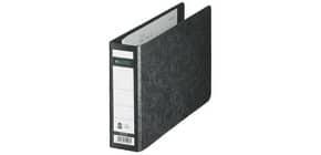 Ordner Pappe A5 quer schwarz LEITZ 10660000 56mm ohne Griffloch Produktbild