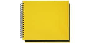Fotospiralbuch  gelb VELOCOLOR 5530 310 28,5x24cm Produktbild