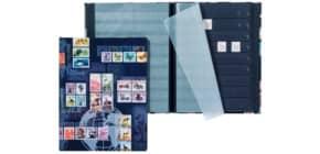 Briefmarkenalbum Markenm. schwarz PAGNA 30123-15 A4 8bl Lack AxD Produktbild