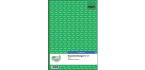 Kassenabrechnung A4, 2x50 Blatt SIGEL KG425 Produktbild