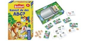Mitbringspiel Scout KOSMOS 710521 Kennst du das ABC? Produktbild