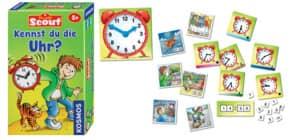 Mitbringspiel Scout KOSMOS 710545 Kennst du die Uhr? Produktbild