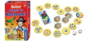 Mitbringspiel Scout KOSMOS 710514 Kannst du Rechnen? Produktbild