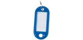 Schlüsselanhänger 10 Stück dunkelblau Q-CONNECT KF10872 Produktbild