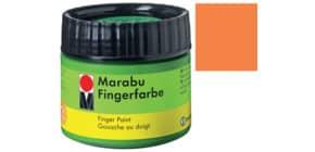 Fingerfarbe 100ml orange MARABU 0302 50 013 Produktbild