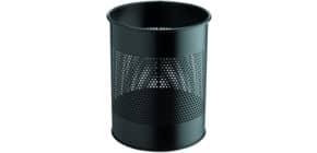 Papierkorb 14,7 Liter schwarz rund DURABLE 3310-01 Produktbild