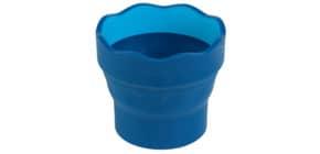Wasserbecher Click&Go blau FABER CASTELL 181510 Produktbild