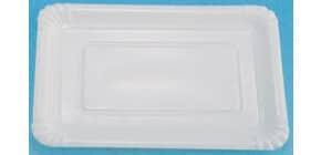Pappteller P8A Pol 5a/25 17x23 weiss HOSTI 16160140 7380561 25ST beschichtet Produktbild