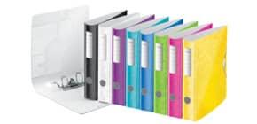 Ordner A4 6cm Active fbg.sort. LEITZ 1107-00-99 Wow PP Produktbild