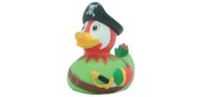 Badeente Piraten-Papagei LILALU 2037  8.5cm Produktbild