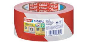 Markierungsband rot/weiß TESA 58134-00000-00 50mm 66m Produktbild