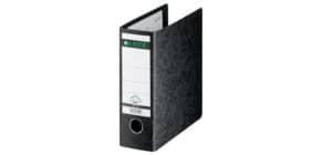 Ordner Pappe A5 hoch schwarz LEITZ 10750000 80mm Produktbild