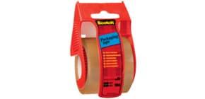 Verpackungsband 50mm 20m braun SCOTCH C5020D inkl. Handabroller Produktbild