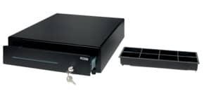Kassenlade 4 Fächer schwarz SAFESCAN 132-0423 LD4141 Produktbild