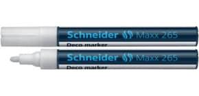 Decomarker Maxx 265 weiß SCHNEIDER 126549 1-3mm Produktbild